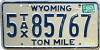 1983 Wyoming Ton Mile Tax #5-85767