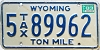 1983 Wyoming Ton Mile Tax #5-89962