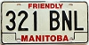 1983 Manitoba friendly # 321-BNL