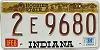1984 Indiana Hoosier graphic # 2E9680