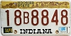 1984 Indiana Hoosier graphic # 18B8848