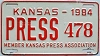 1984 Kansas Press Car # 478