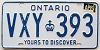 1984 Ontario Yours To Discover # VXY-393