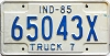 1985 Indiana Truck 7 # 65043 X