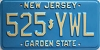 1985 New Jersey # 525-YWL