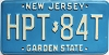 1985 New Jersey # HPT-84T
