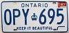 1985 Ontario Keep It Beautiful # OPY-695