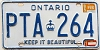 1985 Ontario Keep It Beautiful # PTA-264