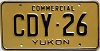1986 Yukon Commercial #CDY26