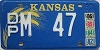 1986 Kansas Wheat graphic # M 47, Doniphan County