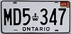 1986 Ontario Commercial # MD5-347