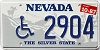 1987 Nevada Disabled # 2904