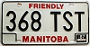 1987 Manitoba friendly Truck # 368-TST