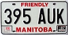 1987 Manitoba friendly # 395-AUK