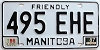 1987 Manitoba friendly # 495-EHE