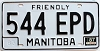 1987 Manitoba friendly # 544-EPD
