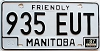 1987 Manitoba friendly # 935-EUT
