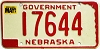 1987 Nebraska Government # 17644