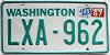 1987 Washington # LXA-962