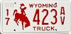 1988 Wyoming Truck #423AV, Campbell County