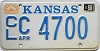 1988 Kansas graphic # C 4700, Cowley County