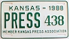 1988 Kansas Press Car # 438