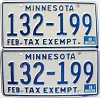 1988 Minnesota Tax Exempt pair # 132-199