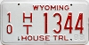 1988 Wyoming House Trailer # 1344, Fremont County