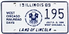 1989 Illinois West Chicago Railroad Days graphic # 195