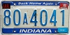 1989 Indiana Home Again graphic # 80A4041