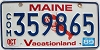 1989 Maine Commercial Lobster graphic # 359865