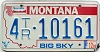 1989 Montana Bicentennial Trailer graphic # 4-10161, Missoula County