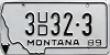 1989 Montana Used Car Dealer # 3UD32-3, Yellowstone County