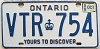 1989 Ontario Yours To Discover # VTR-754
