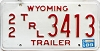 1989 Wyoming Trailer # 3413, Teton County