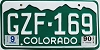 1990 Colorado # GZF-169, Jefferson County