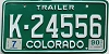 1990 Colorado Trailer # K-24556