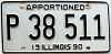 1990 Illinois Apportioned # P 38 511