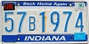 1990 Indiana Home Again graphic # 57B1974