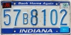 1990 Indiana Home Again graphic # 57B8102