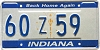 1990 Indiana Home Again graphic # 60Z59
