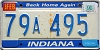 1990 Indiana Home Again graphic # 79A495