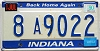 1990 Indiana Home Again graphic # 8A9022