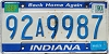1990 Indiana Home Again graphic # 92A9987