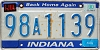 1990 Indiana Home Again graphic # 98A1139
