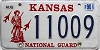 1990 Kansas National Guard graphic # 11009