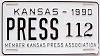 1990 Kansas Press Car # 112
