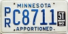 1990 Minnesota Apportioned # C8711