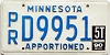 1990 Minnesota Apportioned # D9951