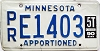 1990 Minnesota Apportioned # E1403